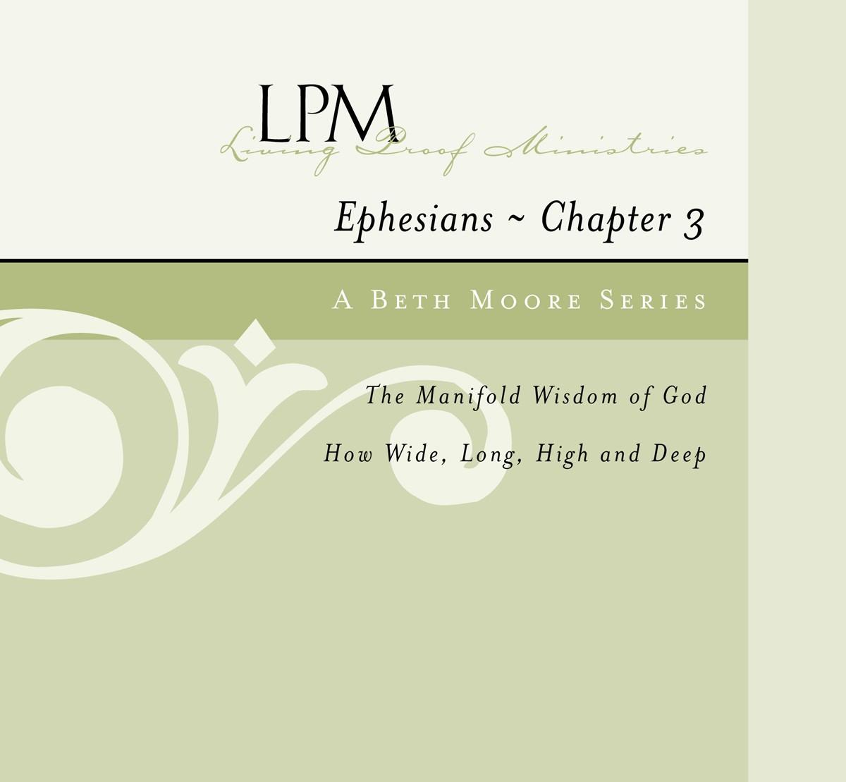 Ephesians Chapter Three