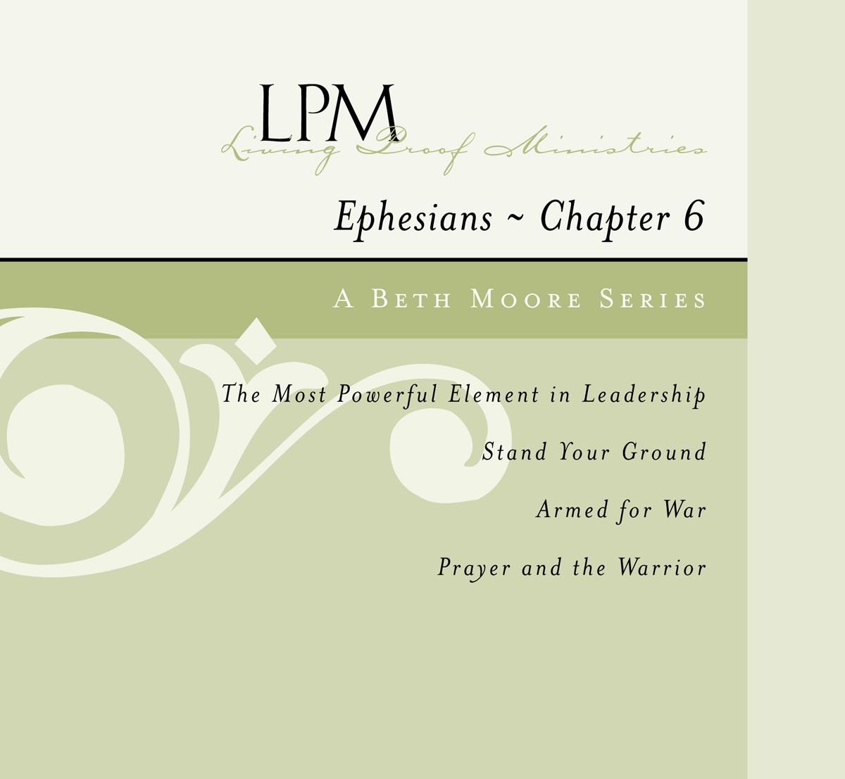 Ephesians Chapter Six