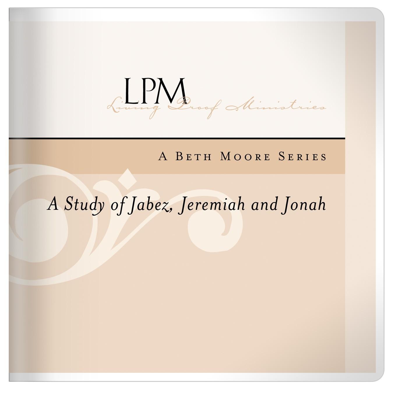 Jabez, Jeremiah and Jonah