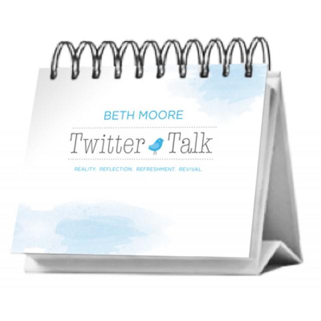 Twitter Talk Flip Calendar